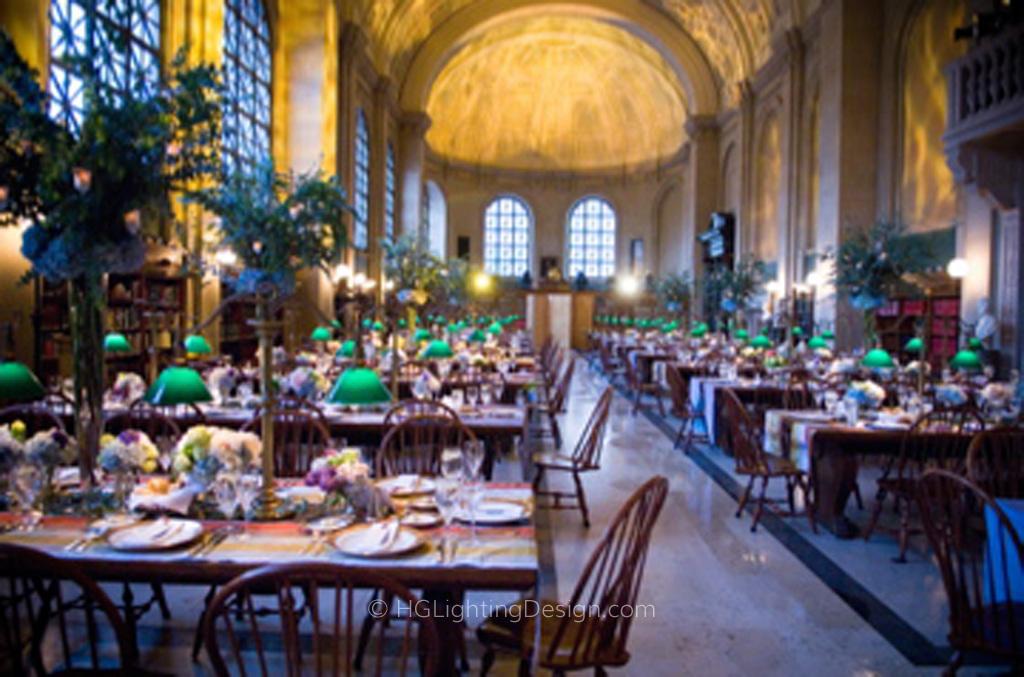 Boston Public Library Wedding Hglightingdesign