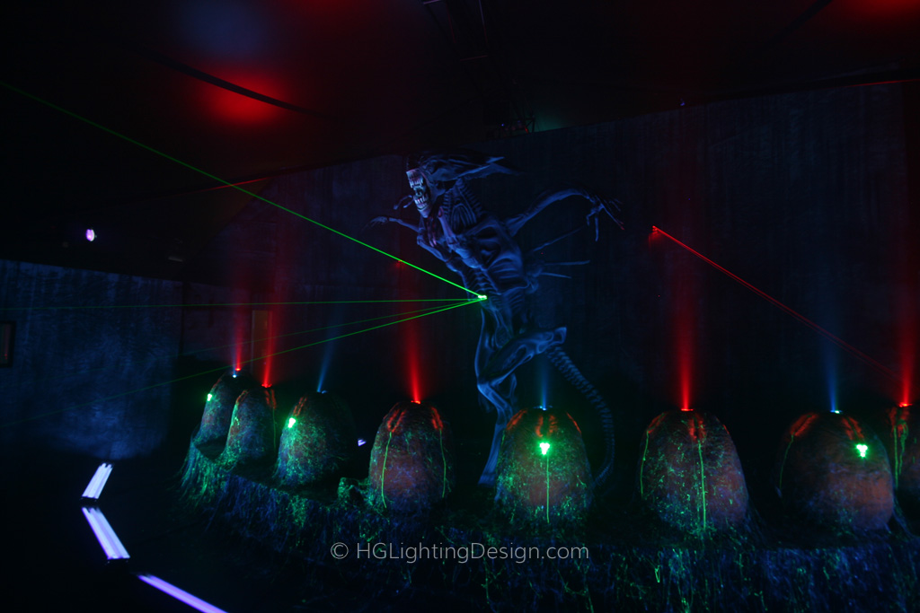 Alien Vs Predator Laser Tag | hglightingdesign